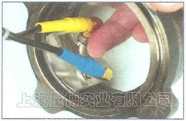 热处理淬硬层无损测厚仪的测试实例