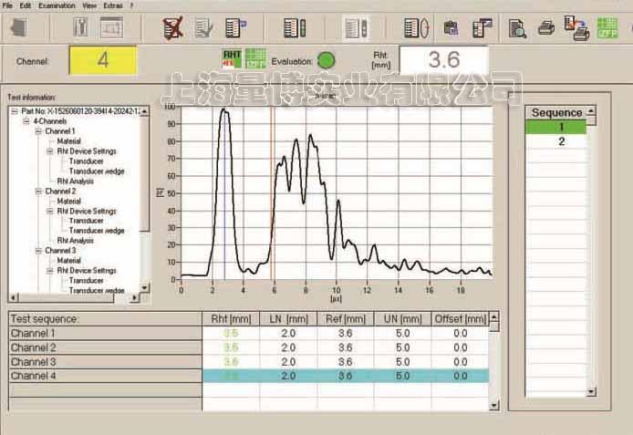 4通道硬化层深度检测系统P3121/淬火硬化层厚度测量仪