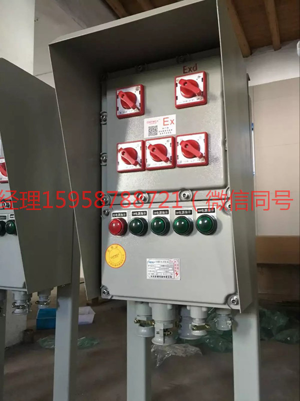 吉安BXK8050防爆控制箱ExdIICT6IP65