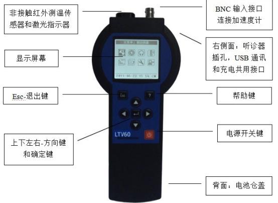 LTV60多功能振动巡检仪