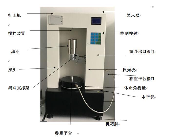 锂电池材料流动性测试仪