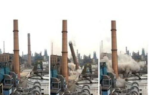 锅炉烟囱拆除加高公司——千秋高空
