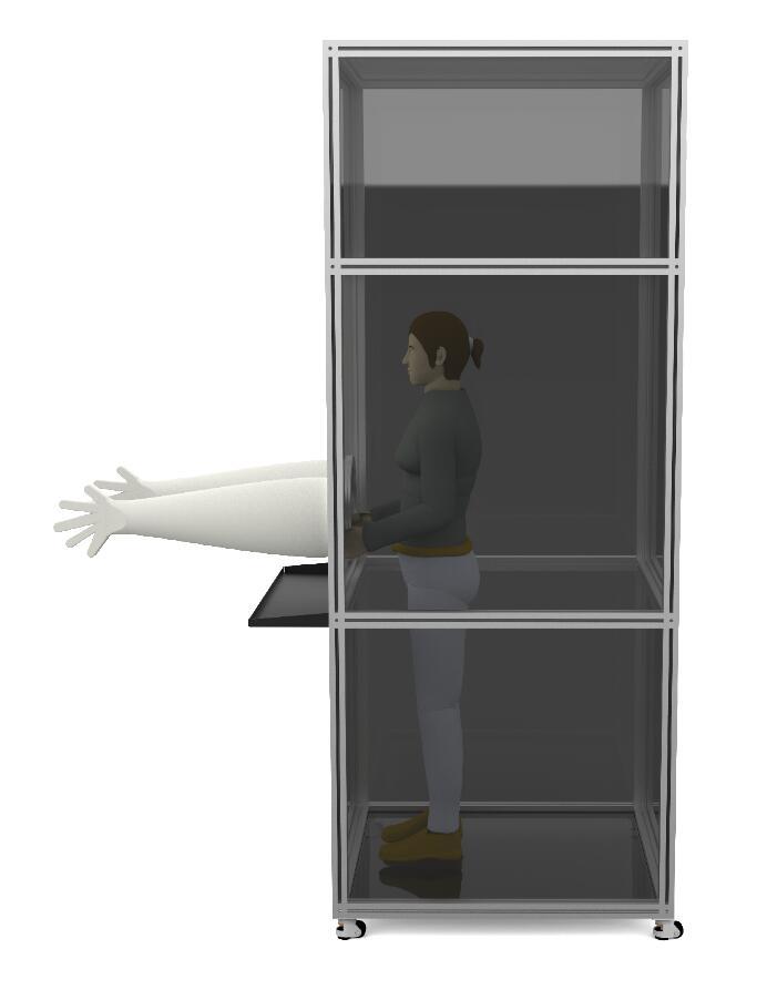 医疗单位用LB-3316移动核酸采样隔离箱折扣价格