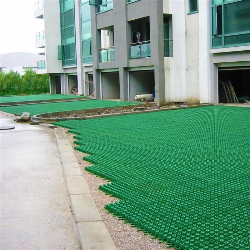 石景山区要闻小区车位绿化塑料植草格